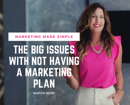 marketing made simple - issues if you don't have a marketing plan
