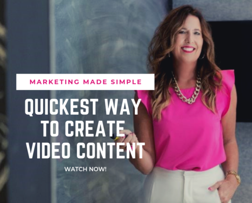 marketing made simple - quickest way to create video content